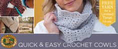 Learn How to Crochet 3 Easy Cowls With Moogly!