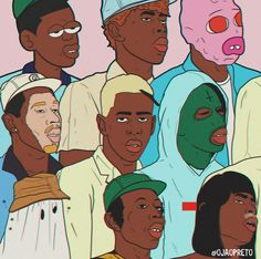 Rap Wallpaper, Aesthetic Iphone Wallpaper, Aesthetic Wallpapers, Computer Wallpaper, Tyler The Creator Wallpaper, Arte Indie, Arte Hip Hop, Doja Cat, Room Posters