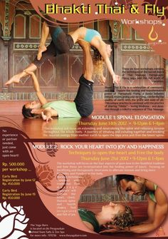 care of the yoga barn and friends of we'ar bex and carlos comes this flying yoga workshop. check it out! Yoga Workshop, Core Beliefs, Asana, Yoga Inspiration, Massage, Barn, Friends, Celebrities, Check