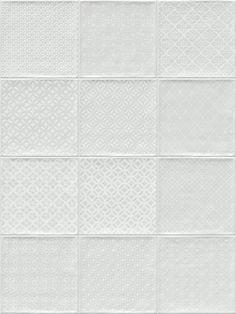 ETNIA: Bugis Blanco - 20x20cm. | Revestimiento - Pasta Roja | VIVES Azulejos y Gres S.A.