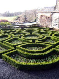 Scottish garden maze. Photo by Jehane on flickr.
