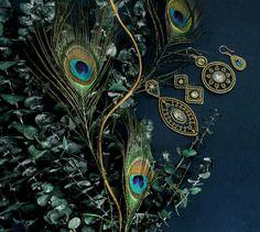 Peacock Jewels by Mi