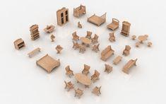 Mansion Furniture - Furniture | MakeCNC.com