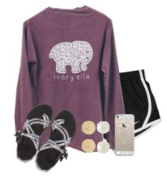 """before I get hate"" by kadynpleasnts ❤ liked on Polyvore featuring NIKE, Chaco, River Island, Ana Khouri and Casetify"