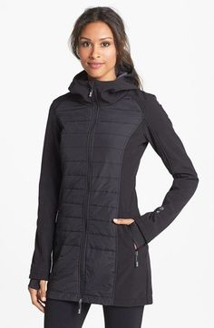 Free shipping and returns on Bench 'Shenanigan B' Water Resistant Hooded Jacket at Nordstrom.com. A lightly insulated and water-resistant hooded jacket keeps you warm and dry wherever your travels take you. Quilted center panels offer a streamlined and slimming fit, while the neutral hues provide wear-anywhere versatility.