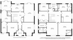 Classic Layout - 6 Bedroom - 418 sq.m - FloorPlans24 delivers a solution that works for YOU – Talk to us…