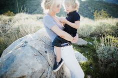 James Moes photographs Carrie of urban-baby.com. #photography #portrait #mother #child