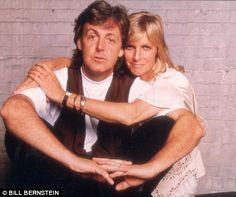 Amor duradouro: Paul e Linda McCartney foram bem casado até sua morte por câncer de mama em 1998