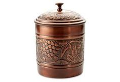 Heritage Bronze Cookie Jar, 4 Qt | In the Kitchen | One Kings Lane
