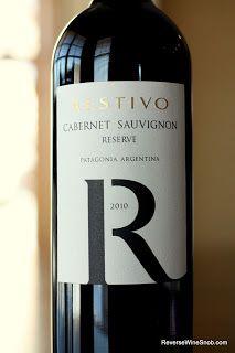 Big, Fruity and Fun - Restivo Cabernet Sauvignon Reserve 2010. Cabernet from Patagonia, Argentina. $12 #winelover http://www.reversewinesnob.com/2013/04/restivo-cabernet-sauvignon-reserve.html