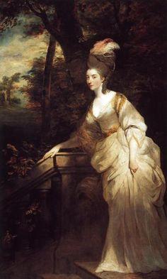Sir Joshua Reynolds | Georgiana, Duchess of Devonshire | 1775-76