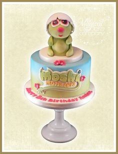 Moshi Monsters 'Pooky' Cake  Cake by TheMagicalCupcakeCo