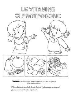 Schede didattiche corpo umano scuola infanzia cerca con - Artigianato per cristiani ...