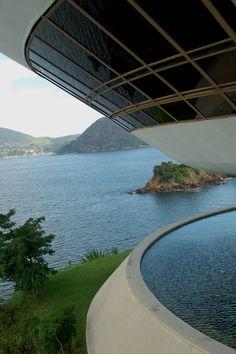 Rio de Janeiro 13-20.01.11 (2028) blog Detalle Museo Niterói de Oscar Niemeyer