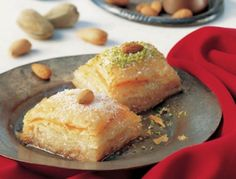 Baklava - traditionell türkische Nachspeise - Rezept