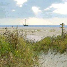 'Breiter Strand' von Dirk h. Wendt bei artflakes.com als Poster oder Kunstdruck $18.03