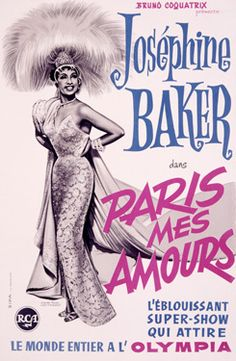Josephine Baker Vintage Posters