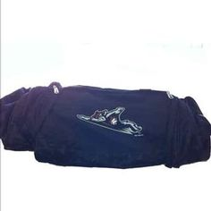 Flying Squirrels Nike Duffel Bag - Black