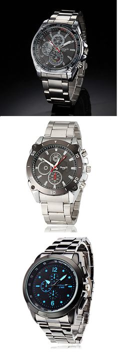 Check out these stylish business like quartz wrist watches. Click on the picture to see more.