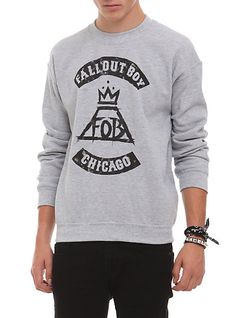 Size large, amazing. Fall Out Boy Chicago Pullover Sweatshirt