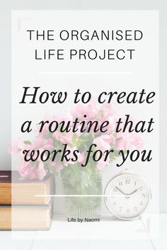 How to create a routine that works for you. Other people's routines and schedules won't work for your family. You need to create a manageable routine that works for your situation. With free printables!
