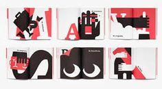 Resultado de imagen para diseño editorial Carta Logo, Fear Of The Dark, Behance, Print Layout, Book Layout, Creative Industries, Layout Inspiration, Visual Communication, Magazine Design