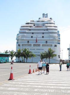 docked in Limon, Costa Rica http://thetravelpresse.com/panama-canal-cruise-day-five/