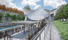 Bella Vista Metro Station, Sydney Sydney Metro, Hill Station, Metro Station, Building, Outdoor Decor, Home, Design, Buildings, Ad Home
