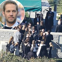 Paul Walker's Family Holds Emotional Funeral For 'Fast & Furious' Star