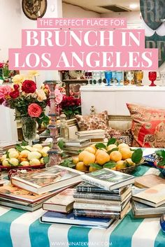 Wondering where to have brunch in Los Angeles? If you love great food, florals, and Insta worthy places, this is one of the best restaurants to eat in Los Angeles for you! The Ivy Los Angeles, Brunch, Birthday Lunch, Cities, Los Angeles Travel, Travel Guides, Travel Tips, Travel Abroad, Budget Travel