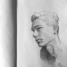 "(@miro_z_art) ""Sketchbook #face #portrait #sketch #sketching #sketchbook #paper #pencil #draw #drawing #art…"" #pencildrawings #sketchbookdrawings"