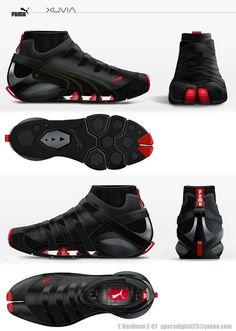 Puma Parkour concept shoe