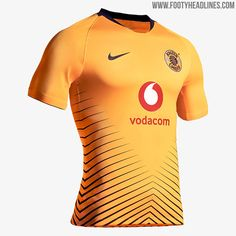 Unique Nike Kaizer Chiefs Home & Away Kits Released - Footy Headlines Football Shirt Designs, Football Kits, Rugby, Kaizer Chiefs, Jersey Atletico Madrid, Sport Wear, Home And Away, Purple And Black, Cards