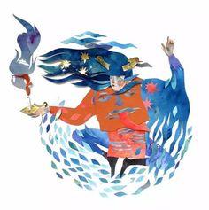 【奇思妙想】当剪纸遇到水彩......  2015-12-01 海青DIY生活艺术   来自加拿大的艺术家 Morgana Wallac前期一直以画水彩为主,但因为水彩这种创作方式很难突破,所以她突发奇想,将水彩融入剪纸,混搭成一种另类的艺术形式,让人耳目一新。      这些展现神话和幻想场景的作品,是由艺术家先用层层剪纸拼贴而成,再用水彩补充细节。大气磅礴的场景,神情俊朗的人物,如梦似幻的纸艺造型,非常