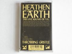 Throbbing Gristle  Heathen Earth  The Live Sound Of by RockofSages, $12.00