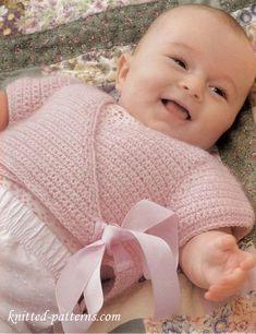 Crochet baby top free pattern