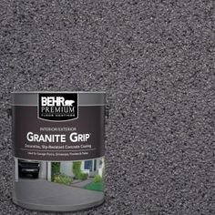 BEHR Premium 1 gal. #GG-06 Vineyard Rock Decorative Concrete Floor Coating 65001 at The Home Depot - Mobile