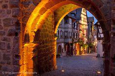 Riquewihr, Alsace, France. © Brian Jannsen Photography