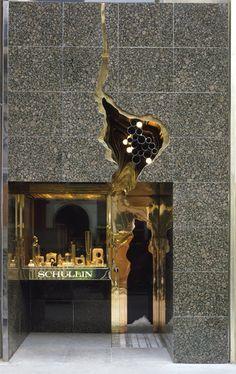 Hans Hollein - Jewellery Store Schullin I (façade), Vienna, Austria, 1974