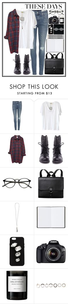 """these days..."" by presmei ❤ liked on Polyvore featuring rag & bone, American Vintage, Monki, Steve Madden, Ann Demeulemeester, Harrods, STELLA McCARTNEY, B-Side, Canon and Byredo"