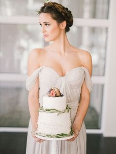 Wedding Dresses:   Illustration   Description   Draped off the shoulder wedding dress: www.stylemepretty… | Photography: Julia Park – juliapark.ca/    -Read More –   - #WeddingDresses https://adlmag.net/2018/01/15/wedding-dresses-inspiration-draped-off-the-shoulder-wedding-dress-www-stylemepretty-photography-julia/