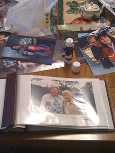 Do you have someone in the family who is suffering with severe memory loss? Make a family album to help them remember the names and faces of their loved ones.