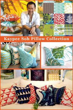 Tropical / Coastal Pillows
