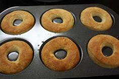 Oven Baked Donut Recipe, Baked Doughnut Recipes, Fried Donuts, Baked Doughnuts, Different Recipes, Yummy Drinks, Baking Recipes, Breakfast Recipes, Treats