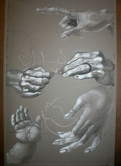 Hands from different angles Life Drawing, Figure Drawing, Drawing Reference, Painting & Drawing, Arm Drawing, Louise Bourgeois, Hand Anatomy, Hand Art, Art Sketchbook