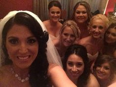 Wedding photo selfie