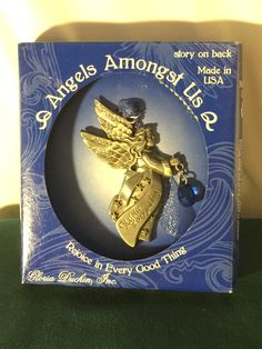 Angels Amongst Us Ornament by Gloria Duchin; Made in the USA; Deuteronomy 26:11…