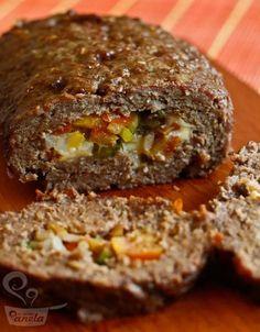 bolo de carne - Naminhapanela.com Blog de Culinária