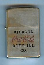 Vintage Coca Cola Atlanta Bottling Co Zippo Lighter