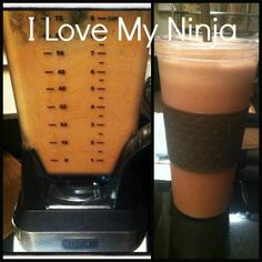 I love my Ninja blender.  I have the one with the to-go cups.  So quick and easy.  Tons of Pinterest recipes work with it.  I'm down 26 pounds and this makes it so much easier.
